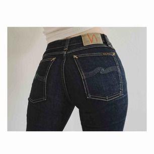 """Jeans från Nudie i modellen """"Skinny Lin"""", använda ett fåtal gånger och i superfint skick!✨"""