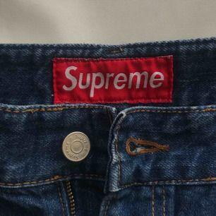 Supreme ripped jeans shorts ✨ Frakt 40kr