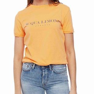 acqua limone t shirt orange
