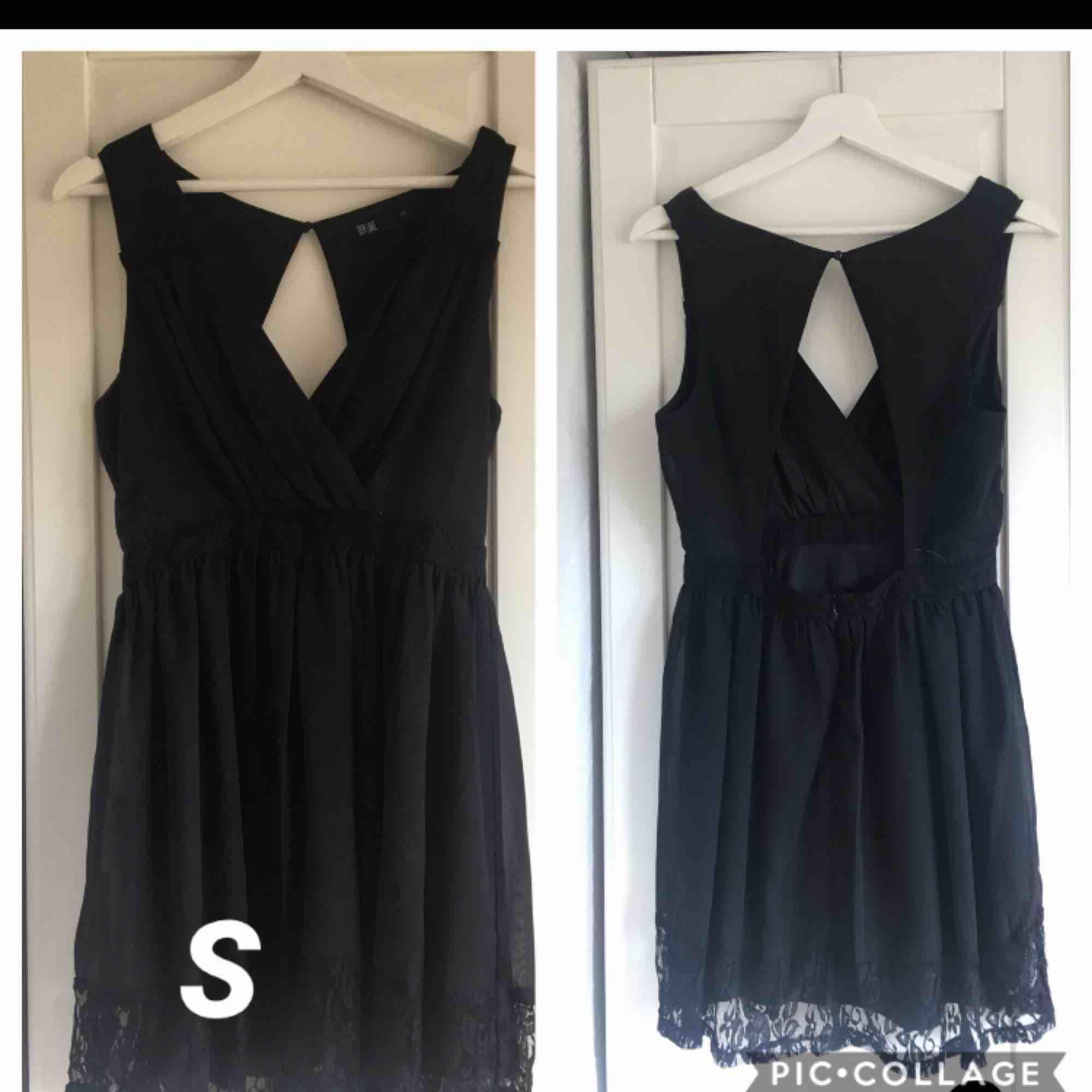 Svart klänning. Använd 1 gång. Frakt tillkommer. . Klänningar.