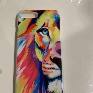 Säljer mitt supersnygga tigerskal till iPhone 7+ då jag bytt telefon. Använt sparsamt