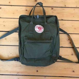 Säljer en fjällräven Kånken ryggsäck! är använd i några år men i gott skick:) kan frakta eller mötas upp i Stockholm!