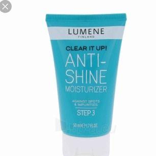 Lumene anti shine moisturizer. Inte öppnad. Passar ej mig.  Frakt: 20kr.