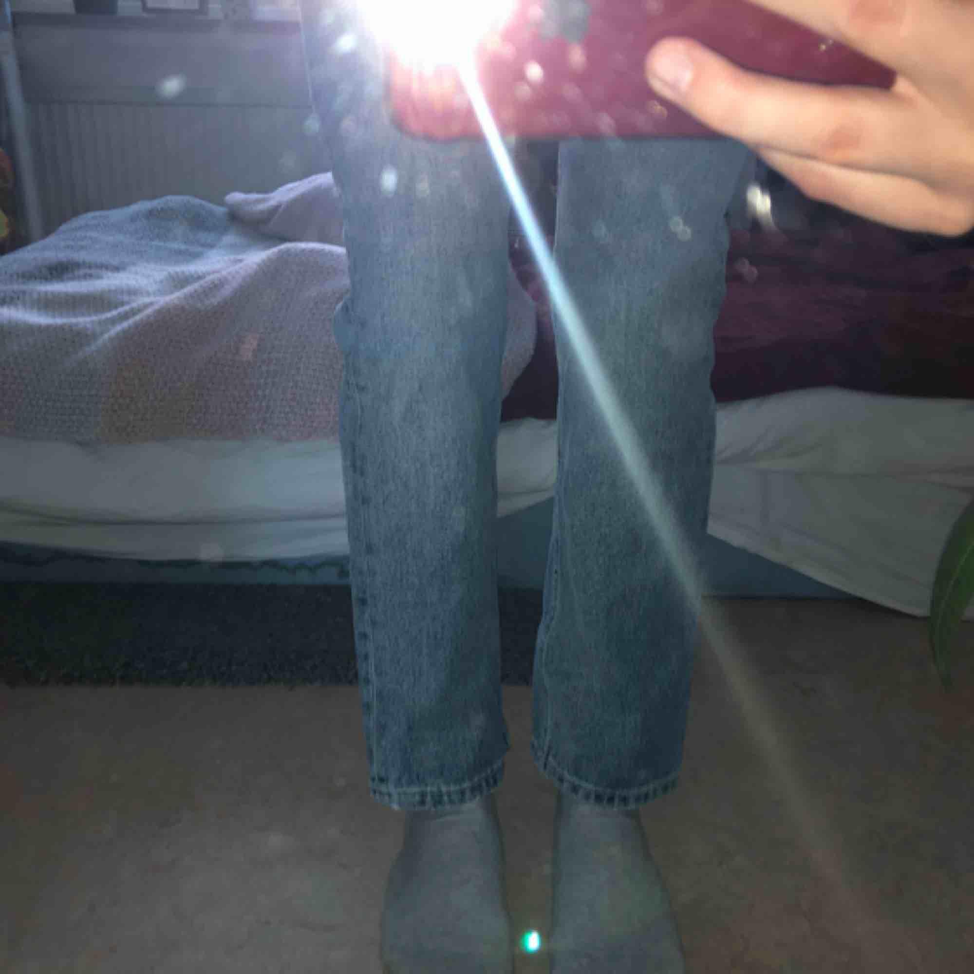 Finaste byxor från WEEKDAY!  100% organic cotton, tyvärr för stort för mig :(   Endast möts i Stockholm! . Jeans & Byxor.