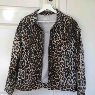 Leopard mönstrad jacka från pull&bear