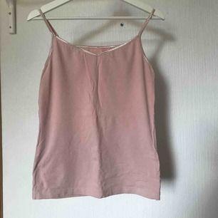 Puder rosa linne med skimmriga axelband  Köparen står för frakten 💕