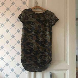 Militär camo klänning bra sick