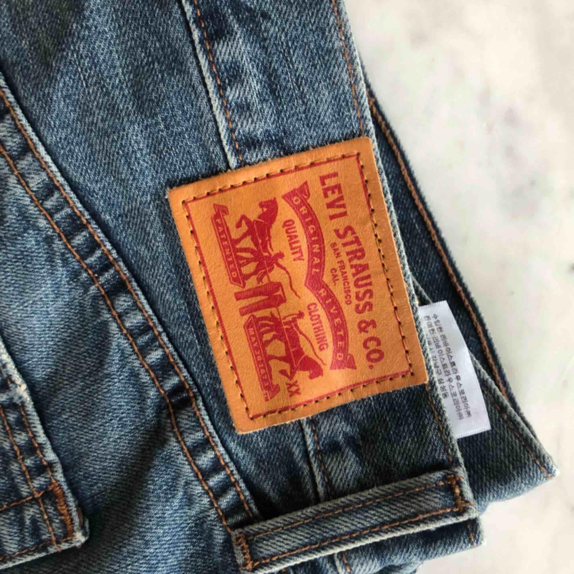 Levi's vintage denim shorts  Frakt eller upphämtning i Stockholm / Shipped or picked up in Stockholm. Shorts.