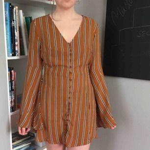 Snygg oanvänd klänning! Köpt på asos men jag är osäker på märket, köparen står för frakt