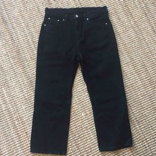 Voyage Black Jeans från Weekday. Mått W30 L26. Endast använda en gång, så i fint skick!