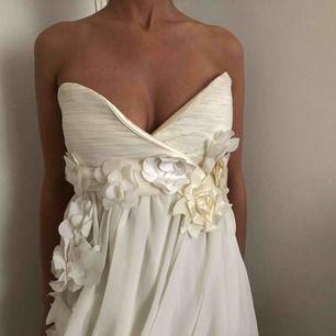 Off white klänning