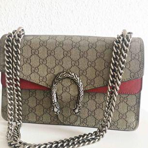 Gucci Dionysus AAA, äkta mocka, äkta läder. Mycket bra kvalité med säkert lås. Pris går att diskutera