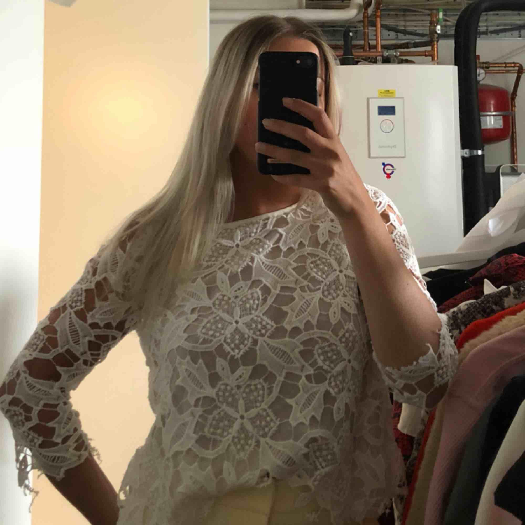 Spetströja från Zara, kan mötas upp i Stockholm . Blusar.