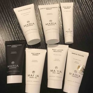 Ta med sparitualen hem!  Olive Cleansing, 30 ml Face Mask Gentle, 15 ml Papaya Peeling, 30 ml Salt Scrub Energy, 30 ml Hair & Body Shampoo Energy, 30 ml  Hair Conditioner Energy, 30 ml Body Lotion Beautiful, 30 ml