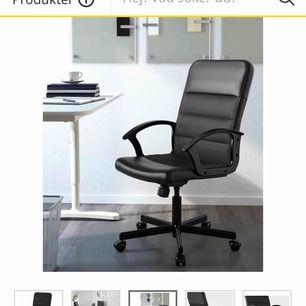 "Säljer kontorsstol ""RENBERGET"" från Ikea fint skick (nypris 479kr)!"