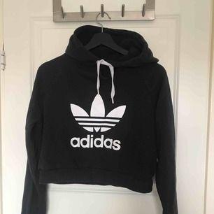Croppad Adidas hoodie Frakt: 79kr