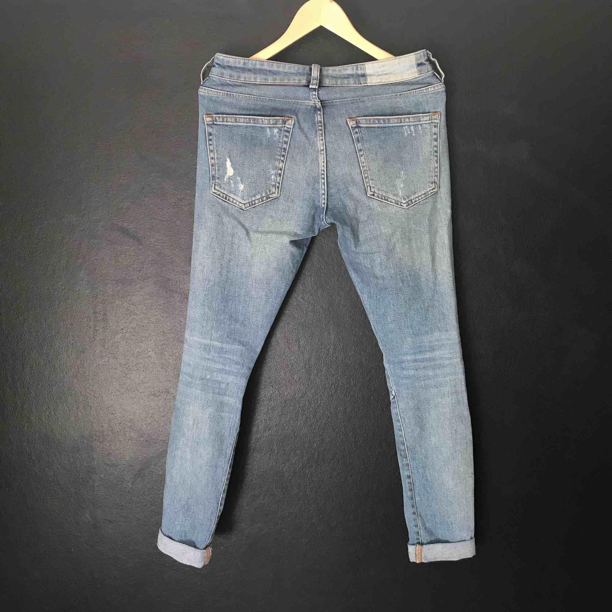 Karve-jeans i begagnat skick. Nypris ca 800. . Jeans & Byxor.