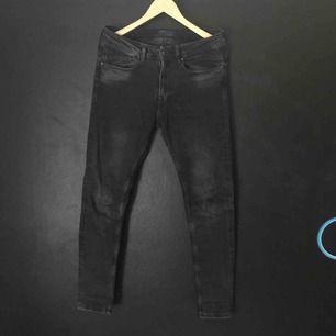 Svart/grå jeans från Zara Man i nyskick.