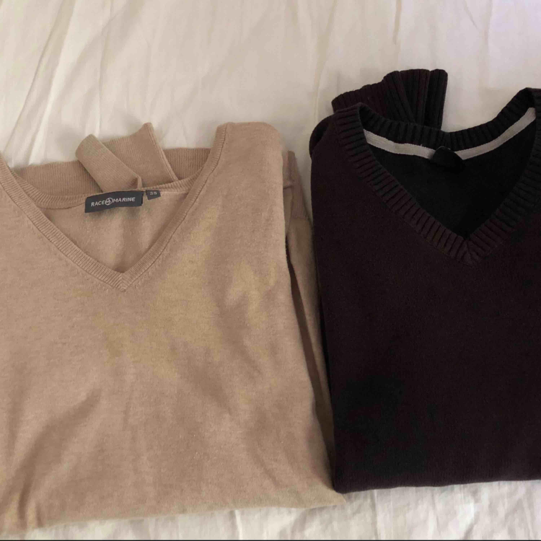50 kr/st  Beige tröja: storlek 38 Svart tröja: storlek 170. Tröjor & Koftor.