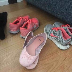 Olika skor ballerina är 39 resten 38