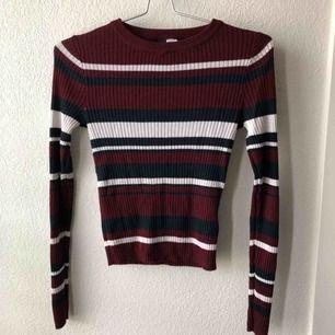 Ribbstickad tröja från H&M.