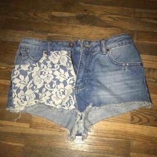 Jeans shorts från zara