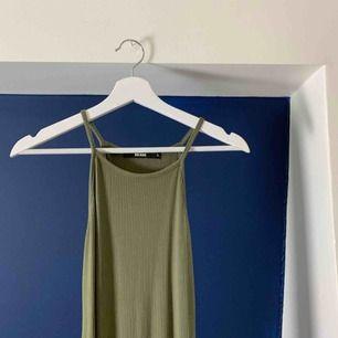 🌼Army green klänning🌼 super skönt material! Fint skick!  Köparen står för frakt