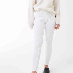 Vita byxor, använda 1 gång!