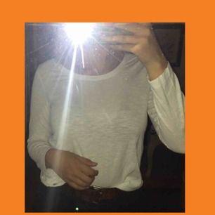 Whats popping my dudes?  I'm back med en enkel men classy vit långärmad t-shirt, inget tryck eller annat på, i fint skick, passa på!!