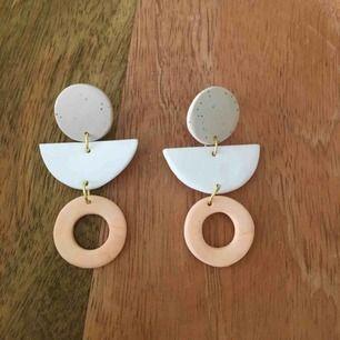 Handgjorda örhängen, 9 kr frakt 🌿