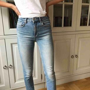 Jeans från Gina. Säljer dem eftersom dom nästan aldrig används längre. Frakten ingår i priset. Betalning sker via swish.