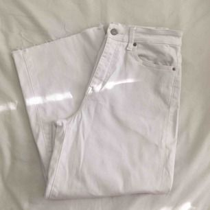 White jeans Uniqlo, 25 waist  120kr plus shipping or we meet up
