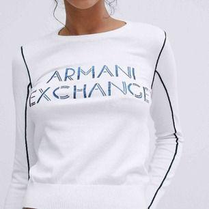 Vit Armani tröja