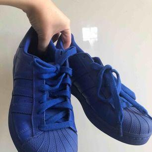 Adidas by Pharrell Williams Superstar Supercolor i mörkblått ✨ Endast använda en gång. Frakt tillkommer