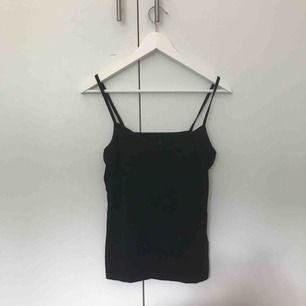 Ett basic svart linne från kappahl. Säljer pga för stor i storlek för mig. Köparen står för frakten💙