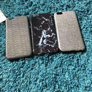 Tre fina iPhone 6 skal i nyskick, finns på första och andra bilden. Dom två skal ni ser på bild 3 är i lite sämre skick och skickas därför med gratis!
