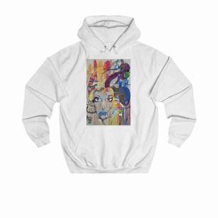 Oanvänd hoodie från The Cool Elephant. Köpt för 600 kr, passar M, men också S fast lite oversized. Skriv privat för mer bilder eller info! Frakt ingår i priset 💙