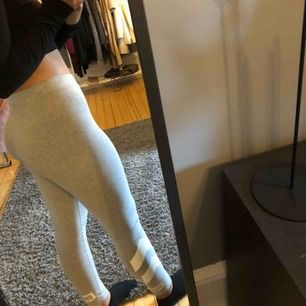ett par jättesköna legging som kan användas att både mysa i och att träna i, använda en gång💕