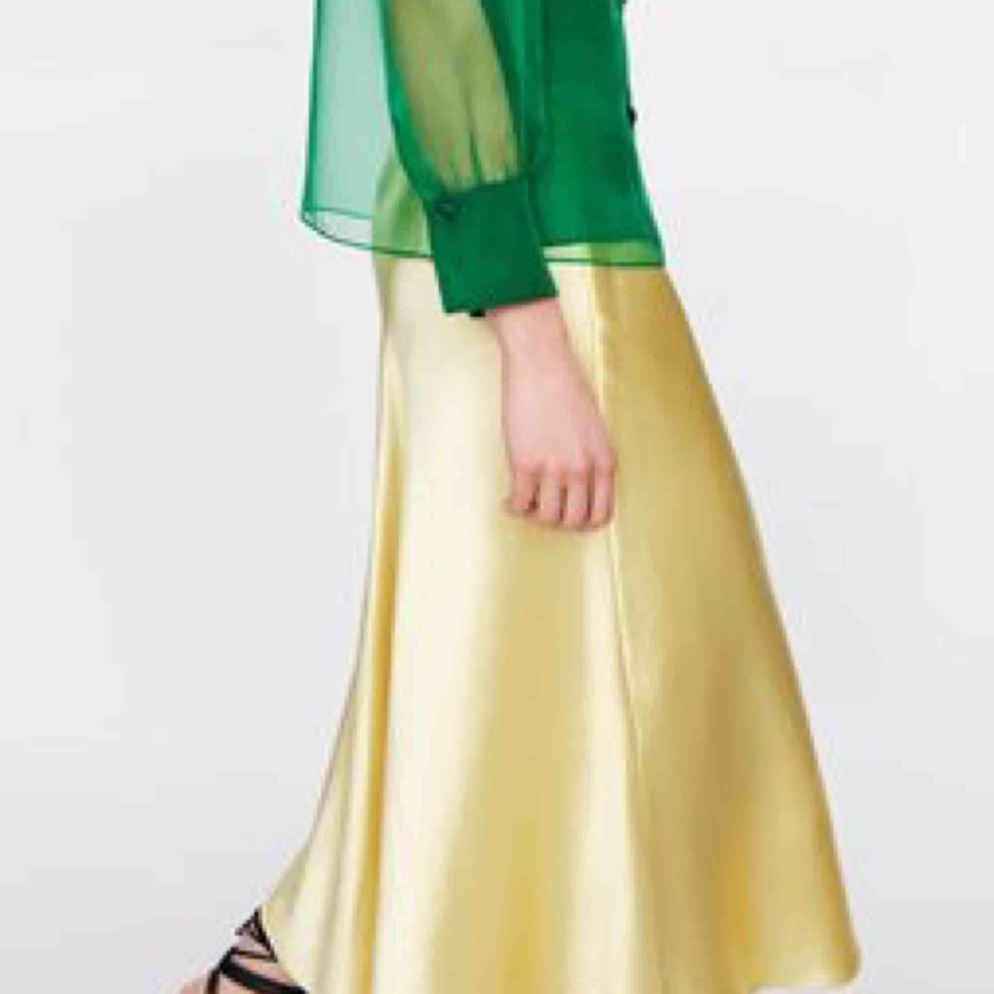 •Kjol Zara •Nypris 399 •Använd 1 gång •Fint skick!. Kjolar.