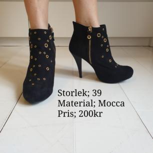 Mocca skor i fint skick