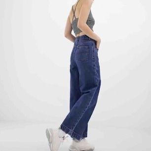 """Snygga vida jeans köpta från Asos med märket """"COLLUSION"""" för 375kr. Storlek W28/L30.  Använda fåtal gånger därmed i gott skick! Frakt tillkommer och betalningen sker via Swish."""
