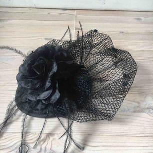 Hårnät/hatt som du fäster i håret. Söt retro-stil! Har fler bilder om någon undrar 🌟