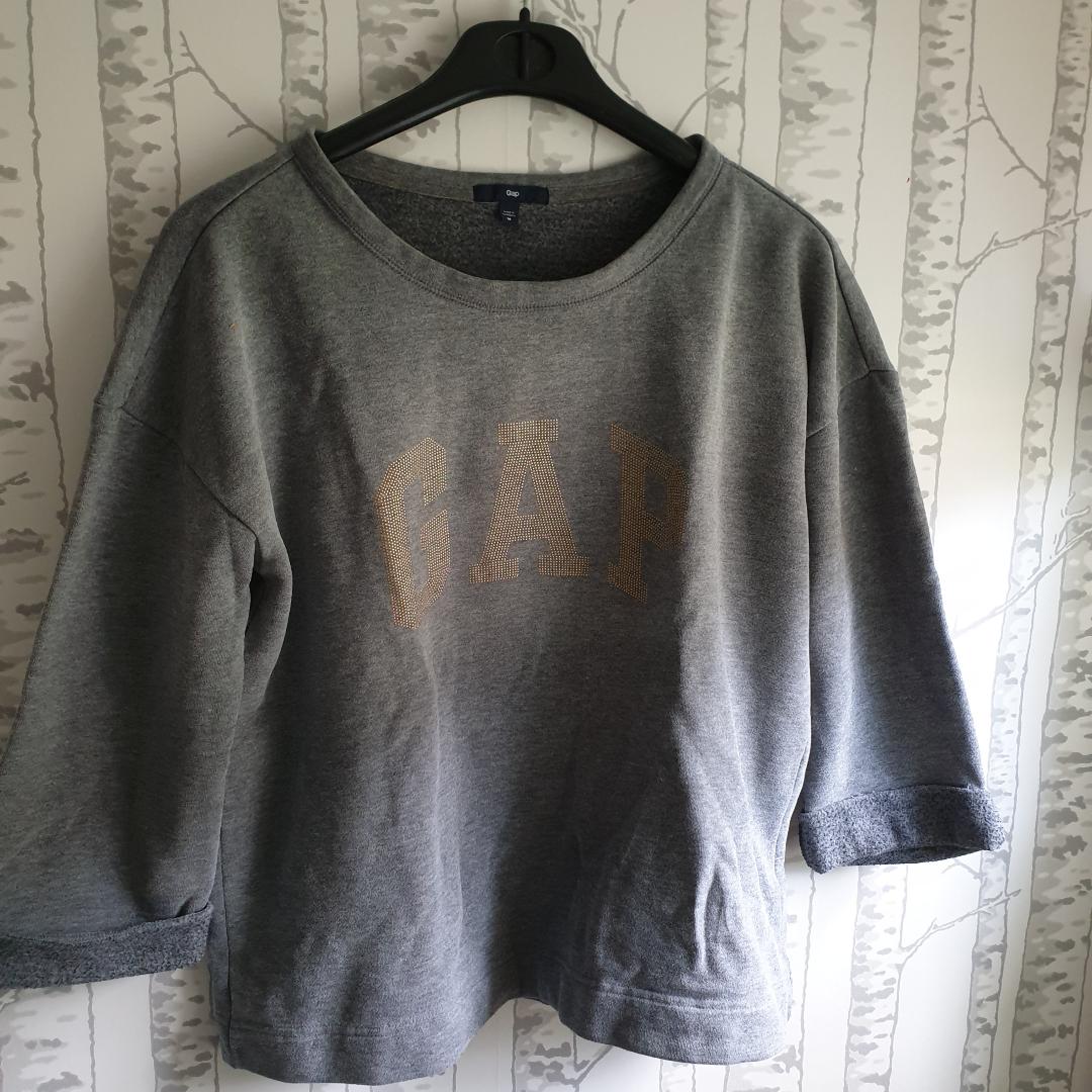 Jättefin och skön gap tröja den är använd antal gånger men i väldigt fint skick. Huvtröjor & Träningströjor.