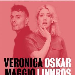 Säljer 2 biljetter till Oskar Linnros och Veronica Maggios konsert i Huskvarna den 17 augusti. Jag tar swish och pris kan diskuteras vid snabbt köp