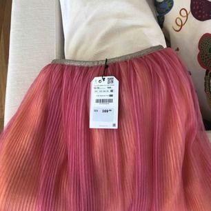 Kjol från zara barn som aldrig är använd med prislappen kvar