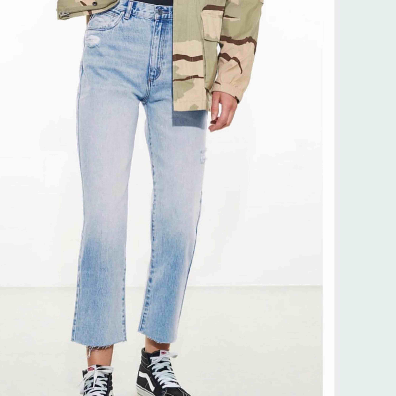 Cropped flare jeans från Nakd  Strl 36  Bra skick. Jeans & Byxor.