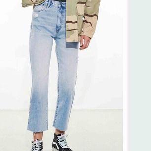 Cropped flare jeans från Nakd  Strl 36  Bra skick
