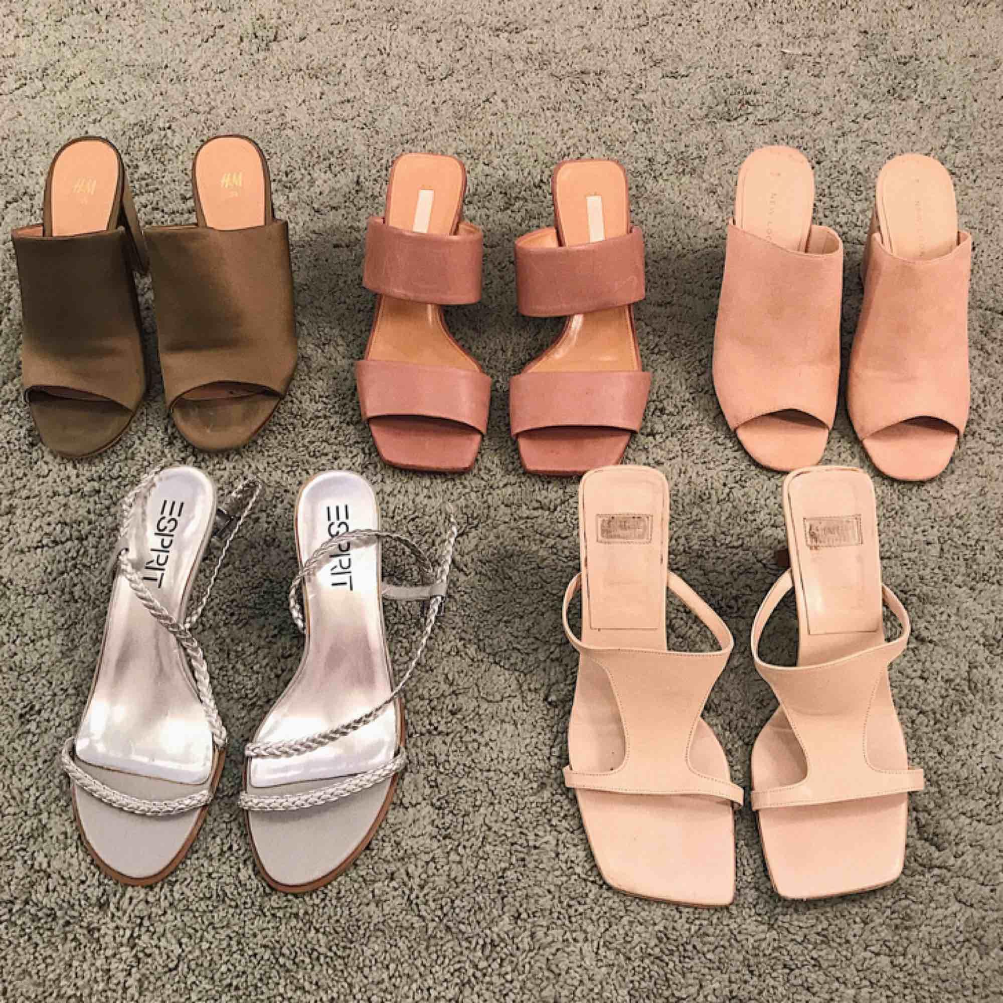 Olika sandaletter från olika märken ✨ Storlek 38/39. 150kr/par 🧚🏼♀️ Frakt 50kr. Skor.