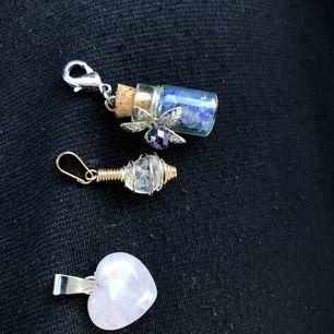 Kristall stenar från bergen i los Angeles, handgjorda av specialister. Ny köpta men kom aldrig till användning, 60kr/st eller 3 för 150kr