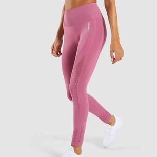 Energy+ seamless leggings. Färgen dusty pink. Gymshark. Nypris 600kr.